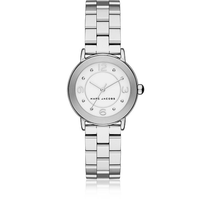 Riley Silver Tone Bracelet Women's Watch - Marc Jacobs