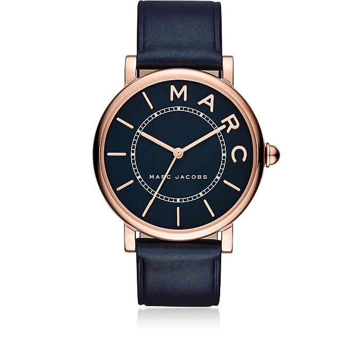 Roxy Rose Gold Tone and Black Dial  Women's Watch - Marc Jacobs