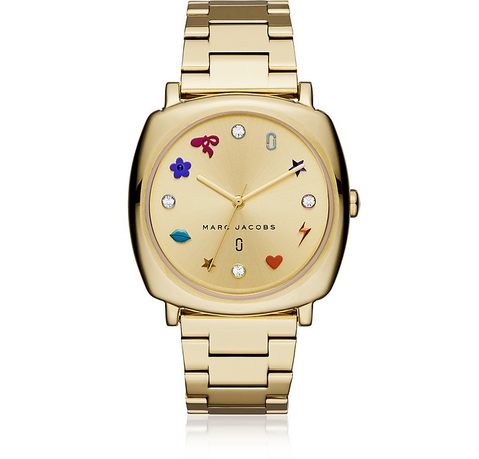 Mandy Gold Tone Women's Watch - Marc Jacobs