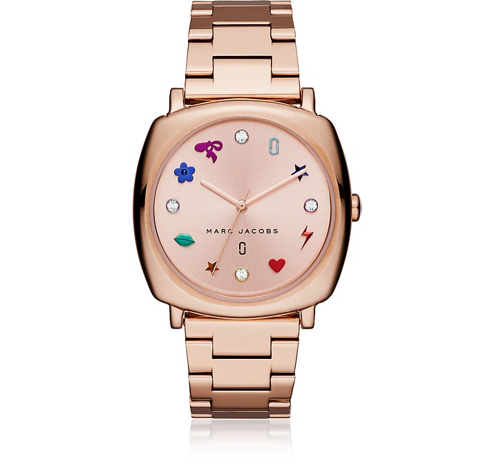 Mandy Rose Gold Tone Women's Watch - Marc Jacobs