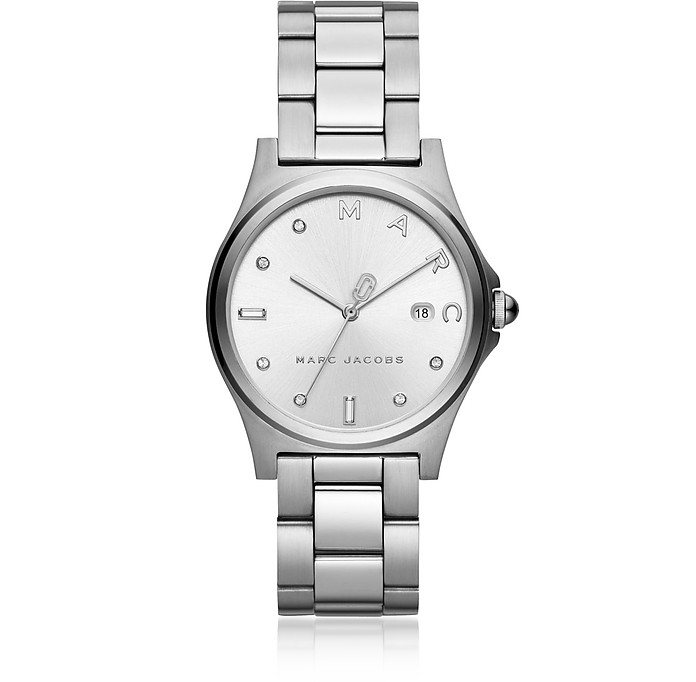 Henry Silver Tone Crystal Women's Watch - Marc Jacobs