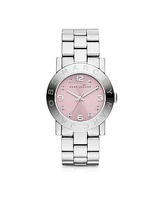 Amy 36MM Stainless Steel Women's Watch