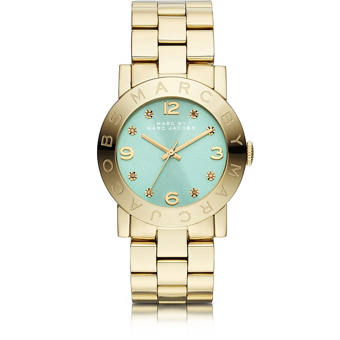 Amy 36MM Gold IP Women's Watch - Marc by Marc Jacobs