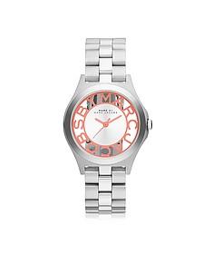 Henry Skeleton Bracelet 34MM Women's Watch