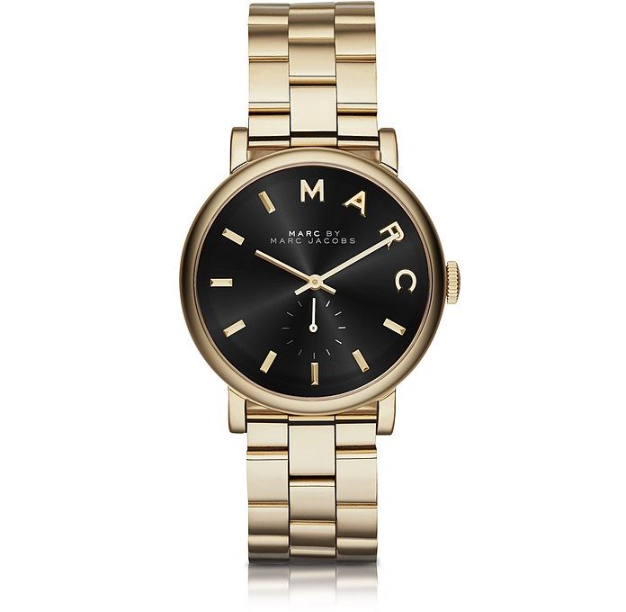 Baker Golden Stainless Steel Classic Women's Watch - Marc by Marc Jacobs