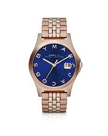 The Slim Bracelet 30MM Women's Watch w/Blue Dial