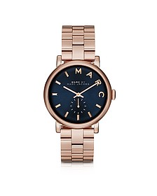 Baker Bracelet 36MM Navy Blue Dial Women's Watch - Marc by Marc Jacobs