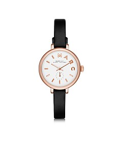Sally 28 MM Stainless Steel and Leather Strap Women's Watch  - Marc by Marc Jacobs