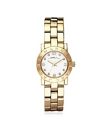 Mini Amy 26 MM Gold Tone Stainless Steel Women's Watch - Marc by Marc Jacobs