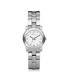 Mini Amy 26 MM Silver Tone Stainless Steel Women's Watch - Marc by Marc Jacobs