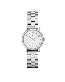 Baker 28 MM Silver Tone Stainless Steel Women's Watch - Marc by Marc Jacobs