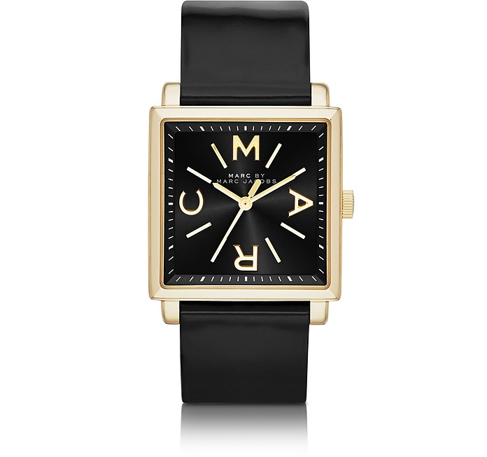 Truman 30mm Square Leather Strap Watch - Marc by Marc Jacobs