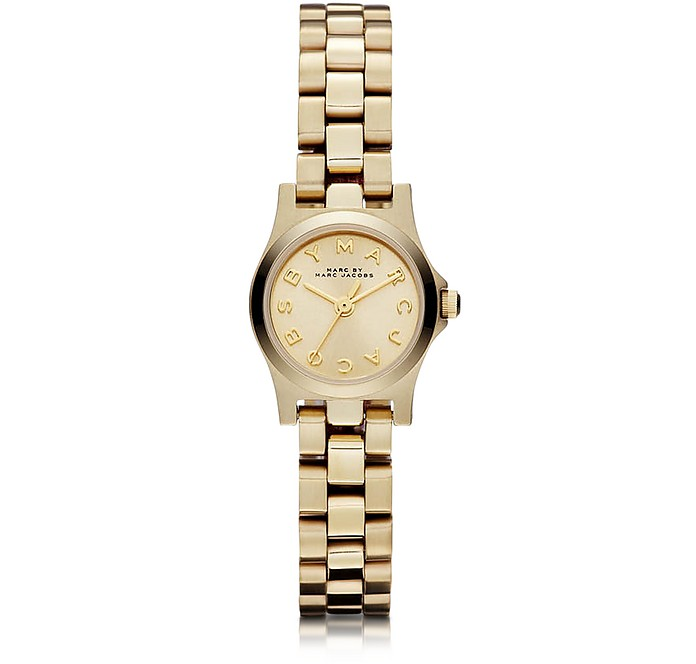 Henry Dinky 21mm Golden Bracelet Watch - Marc by Marc Jacobs