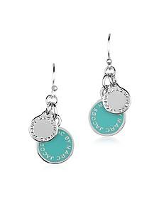 Enamel Discs Earrings
