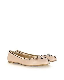 Studded Mouse Ballerina Flat