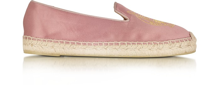 Owl Pink Satin Espadrille Flat - Marc by Marc Jacobs