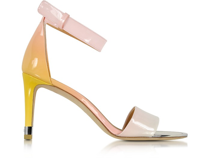 Clean Sexy Sunset Degrade Patent Leather Sandal - Marc by Marc Jacobs