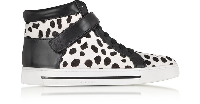 Cute Kicks 10mm Spotted Haircalf Sneaker - Marc by Marc Jacobs