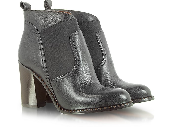 Mixed Up Mod Pull On Leather Bootie - Marc by Marc Jacobs