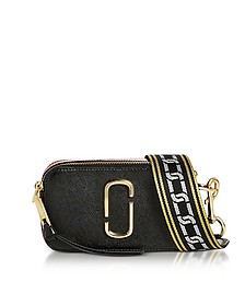 Black & Chianti Snapshot Camera Bag - Marc Jacobs