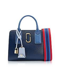 Blue Sea Multi Little Big Shot Tote Bag - Marc Jacobs