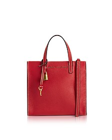 Red Leather The Mini Grind Tote Bag - Marc Jacobs