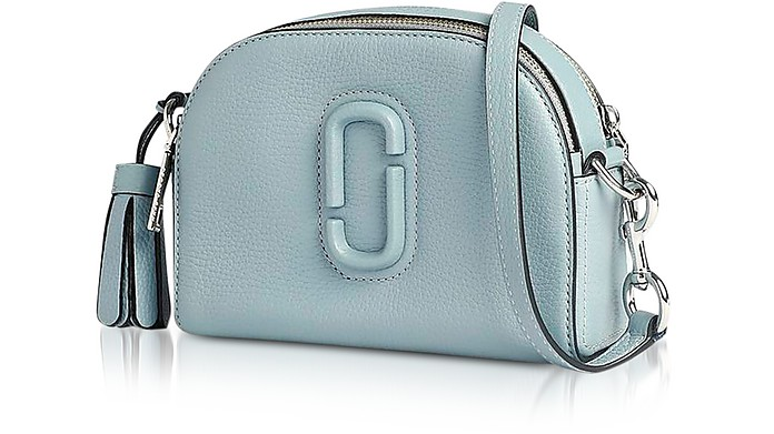 dfedf48fcc5d Marc Jacobs Light Blue Shutter Leather Small Camera Bag at FORZIERI UK