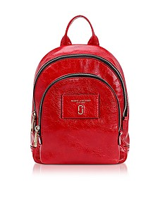 Glossy Leather Mini Double Backpack - Marc Jacobs