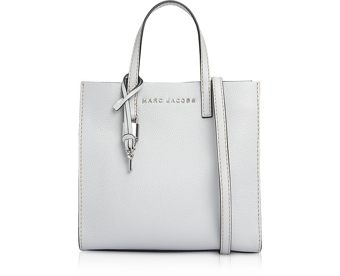 Grainy Leather The Mini Grind Tote Bag - Marc Jacobs
