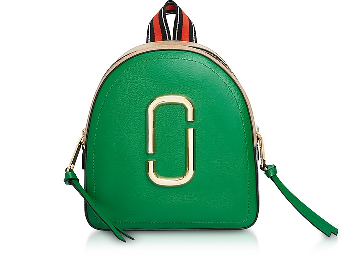 Color-Block Leather Pack Shot Backpack - Marc Jacobs