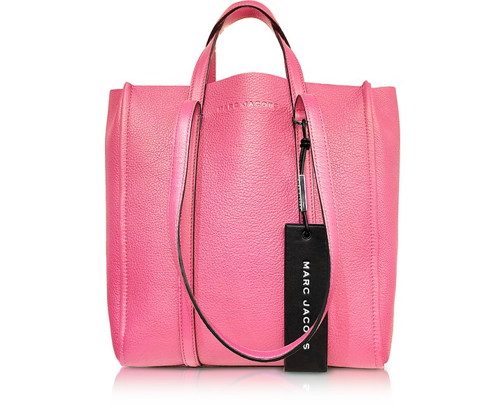 Marc Jacobs Bright Pink The Tag Tote at FORZIERI 97a5bedc6a8ea
