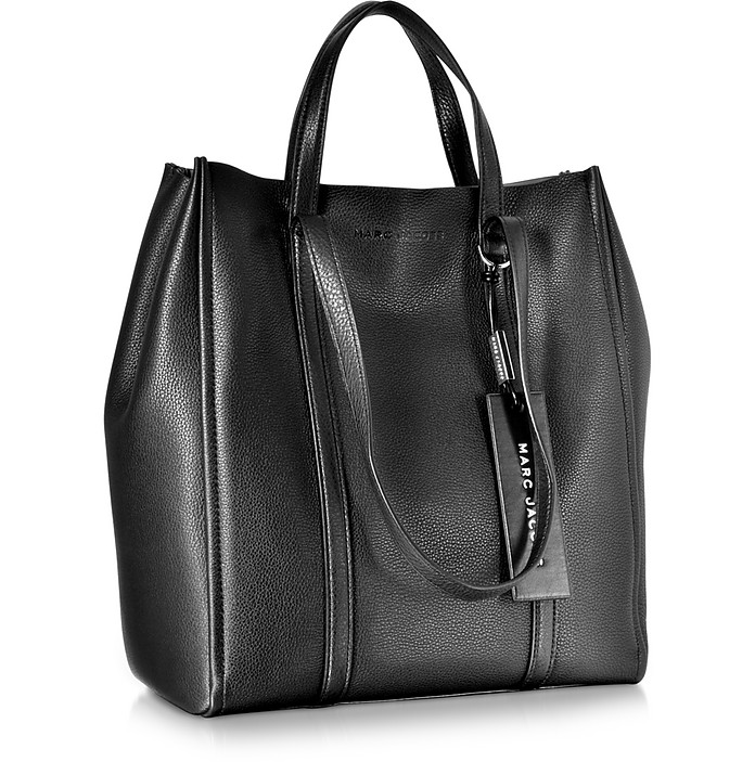 8d10ef4904f9 Marc Jacobs schwarz The Oversized Tag Tote - FORZIERI