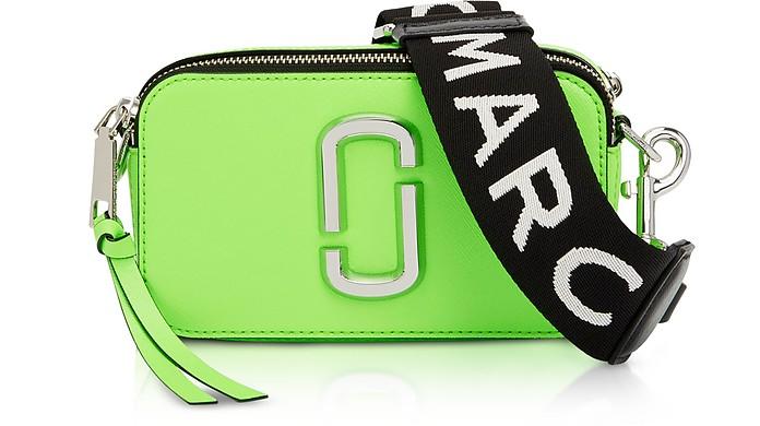 4daca8595c1 Snapshot Fluorescent Small Camera Bag Marc Jacobs Verde Chiaro su ...
