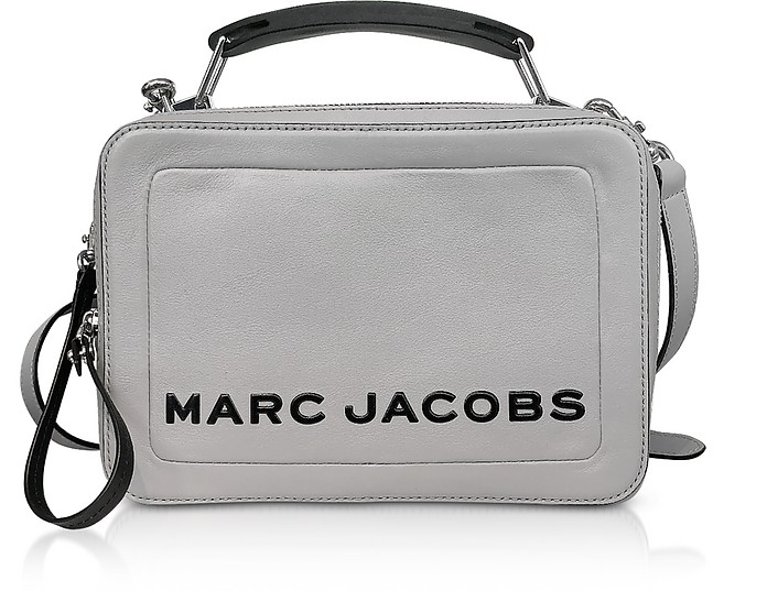 Marc Jacobs Drizzle Grey The Box Bag at FORZIERI b5e483b35918a