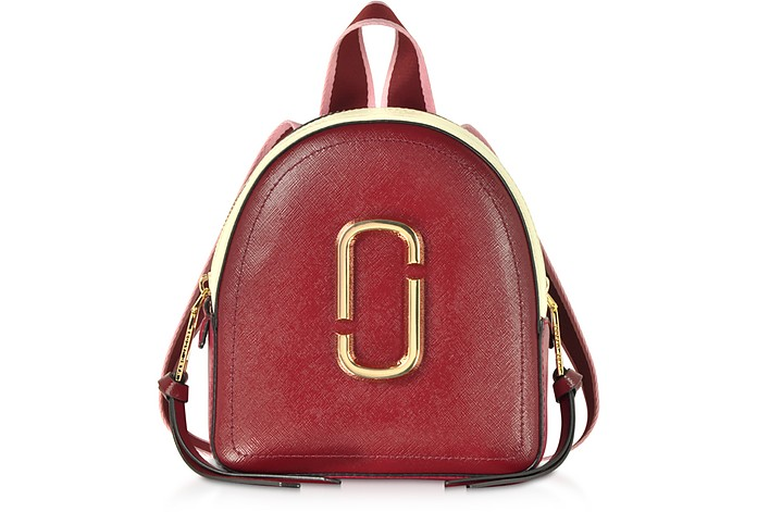 Marc Jacobs Red Mini Packshot Backpack at FORZIERI 6e0c52a68282a