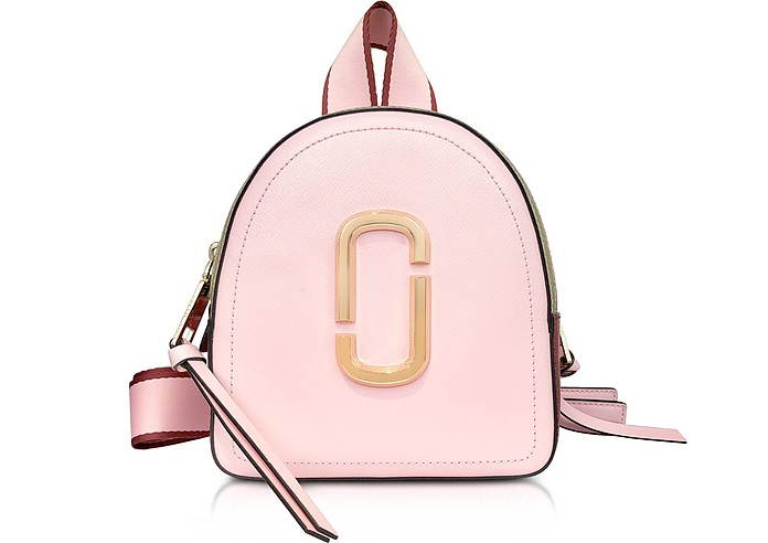 Marc Jacobs Baby Pink Mini Packshot Backpack at FORZIERI d102a46e09e27