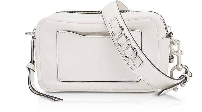 09325f66c62e Marc Jacobs White The Softshot 21 Shoulder Bag at FORZIERI