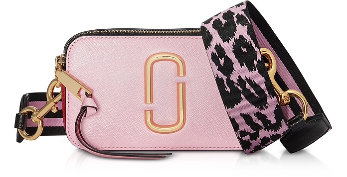 The Snapshot Small Camera Bag in Pelle Color-Block - Marc Jacobs