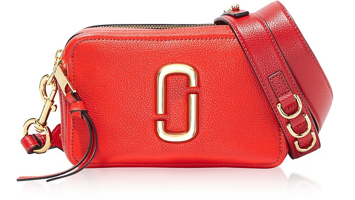 The Softshot 21 Small Natural Grain Leather Crossbody Bag - Marc Jacobs