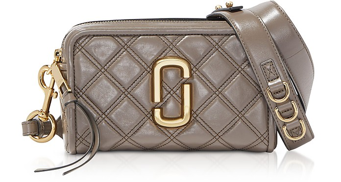 The Quilted Softshot 21 Lambskin Crossbody Bag - Marc Jacobs
