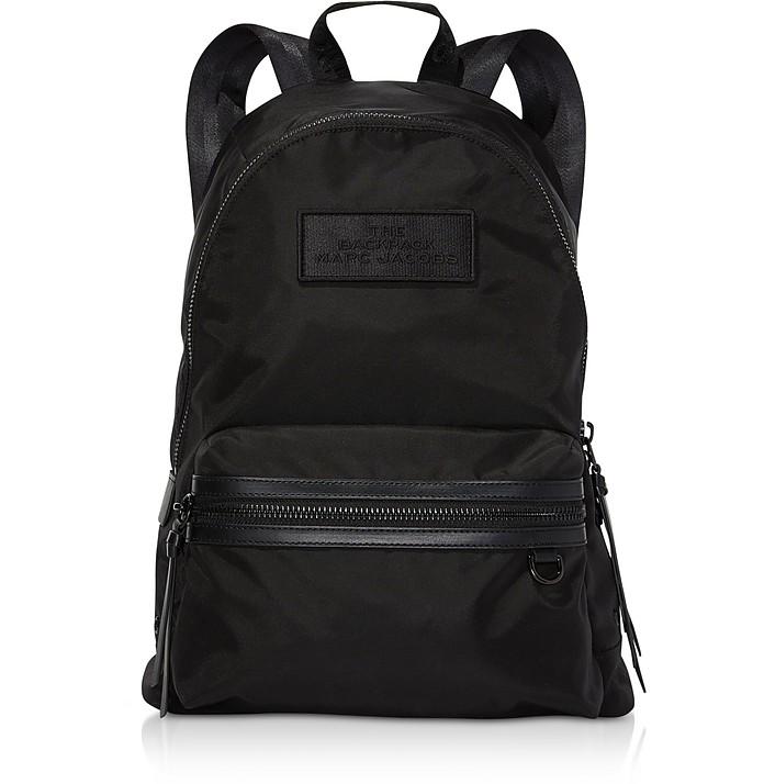 Black Nylon The Large Backpack DTM - Marc Jacobs