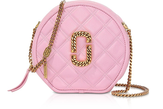 Leather The Status Round Crossbody Bag - Marc Jacobs