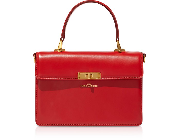 The Downtown Leather Top Handle Bag - Marc Jacobs