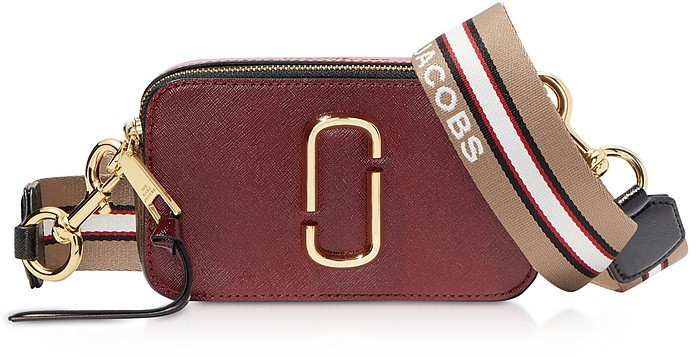 The Snapshot Small Saffiano Leather Camera Bag - Marc Jacobs