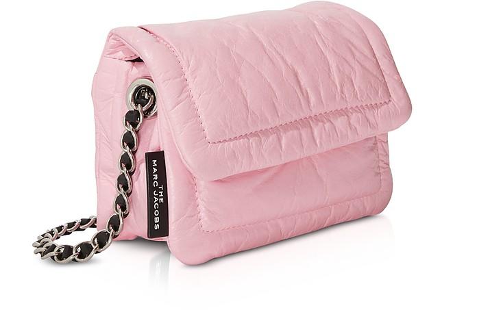 The Mini Pillow Sac à Bandoulière en Cuir Rose Poudré Marc Jacobs ...