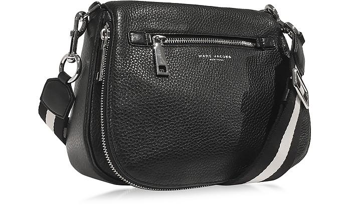 3f60edc15259 Marc Jacobs Gotham City Black Leather Saddle Bag at FORZIERI