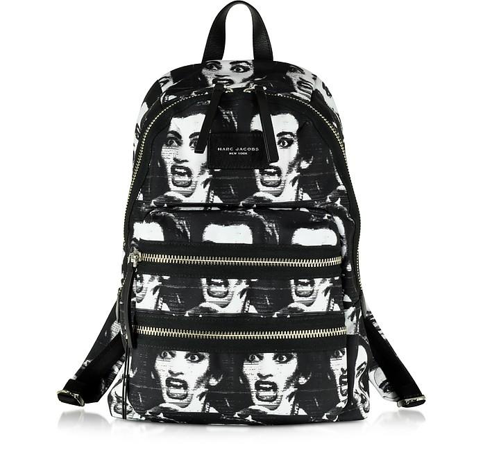 Maria Callas Printed Biker Backpack - Marc Jacobs