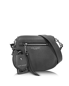 Recruit Shadow Leather Small Saddle Bag - Marc Jacobs