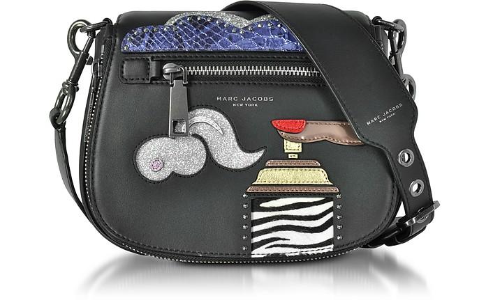 Black Leather Verhoeven Small Nomad Shoulder Bag - Marc Jacobs