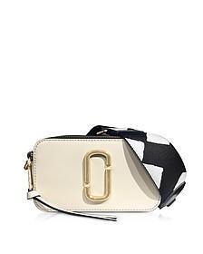 Cloud White Color Block Snapshot Camera Bag - Marc Jacobs